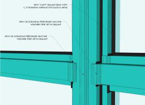 Window Rendering Featuring Wet Seal